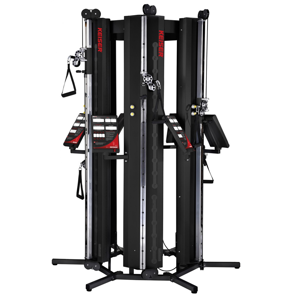 six pack functional training keiser corporation. Black Bedroom Furniture Sets. Home Design Ideas