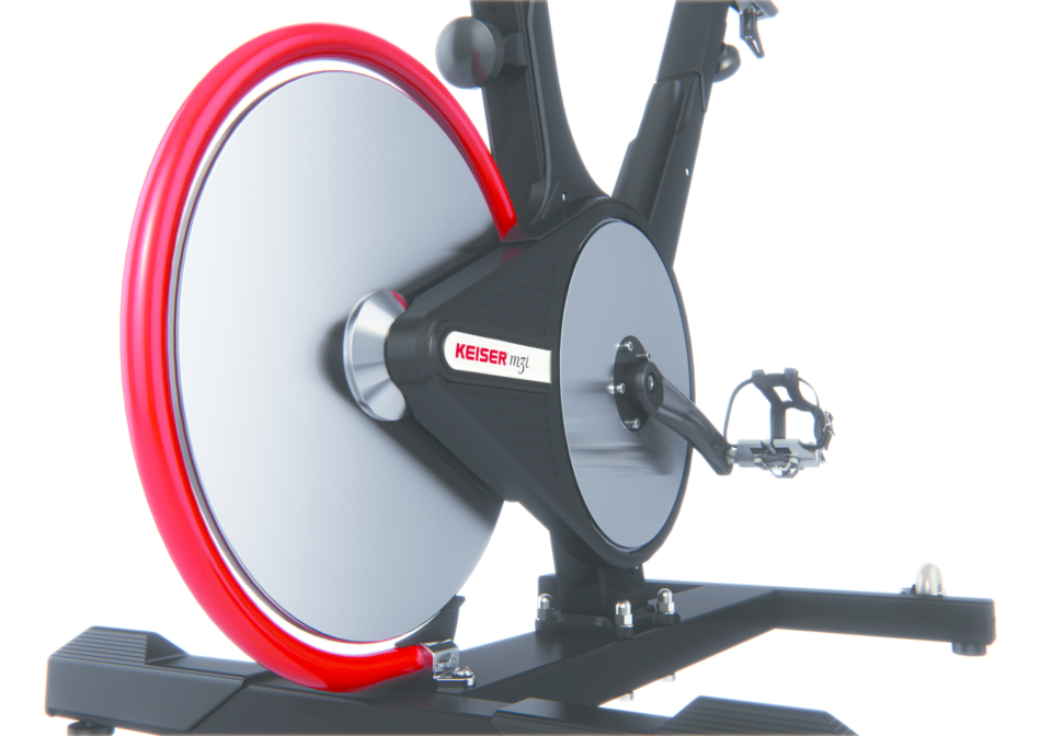 M3i indoor bike the ultimate indoor cycling machine keiser for Indoor cycle design