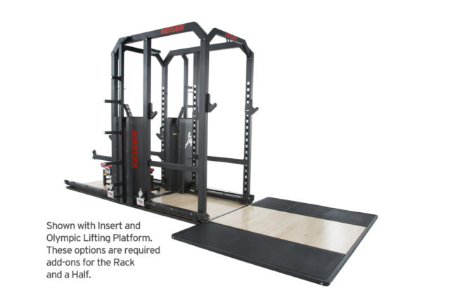 Keiser Rack and a Half UK
